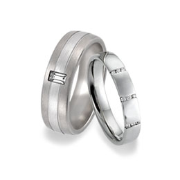 Our collections of engagement rings and wedding rings for gay and lesbian LGBT couples
