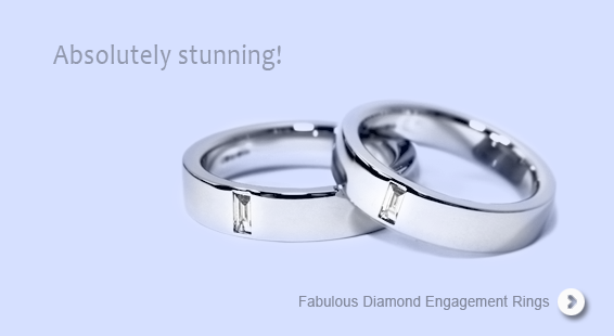 Stunning engagement and wedding rings for gay, lesbian and transgender couples uk, similar to the engagement rings of Tom Daley and Dustin Lance Black