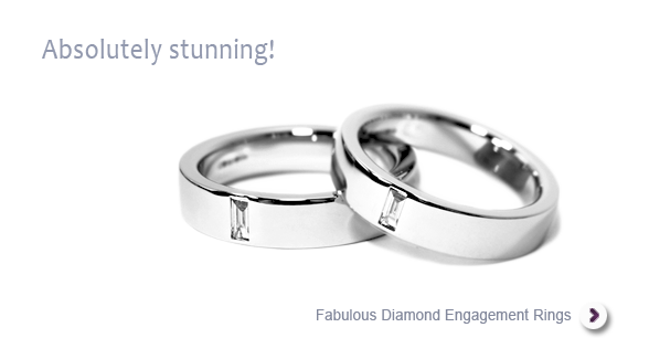 Superb diamond engagement and wedding rings for gay, lesbian and trans couples uk, similar to the engagement rings of Tom Daley and Dustin Lance Black