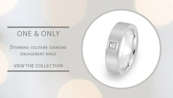 Solitaire Diamond Gay Lesbian Engagement Rings