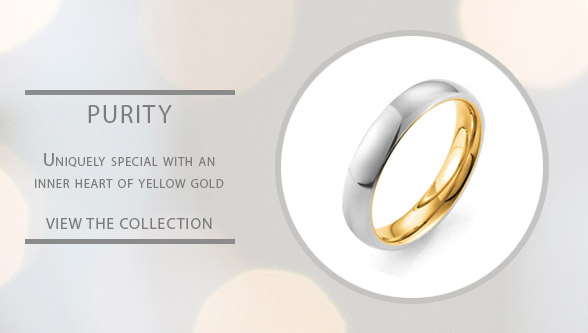 Pure 24ct gold wedding rings for gay and lesbian weddings