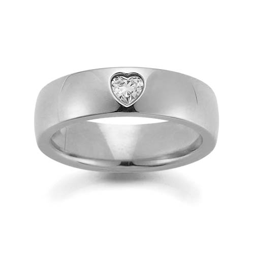 Gay and lesbian heart shaped diamond wedding rings and engagement rings from LGBT ring jeweller UK