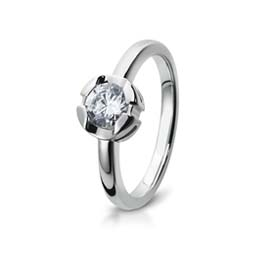 unusual lesbian gay transgender diamond solitaire engagement ring