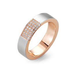 Diamond engagement ring for gay and lesbian lovers