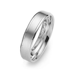 Patterned gay wedding ring