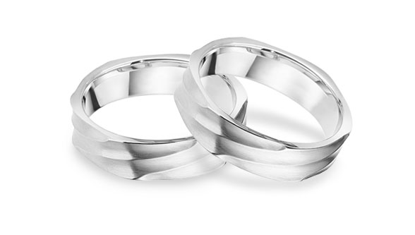 Unusual Gay Lesbian Wedding Ring for men and for women