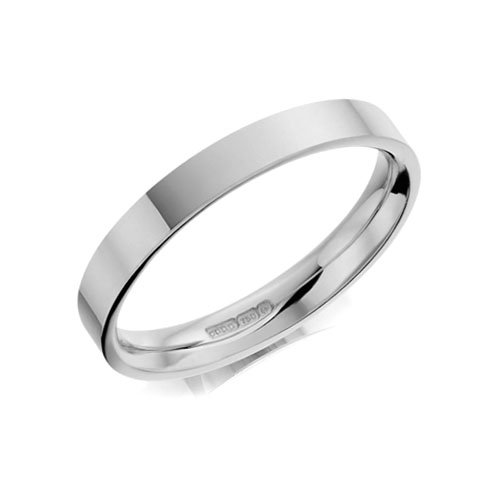 Flat Polished Defined Edge Gay, Transgender, Lesbian Wedding Marriage Ring