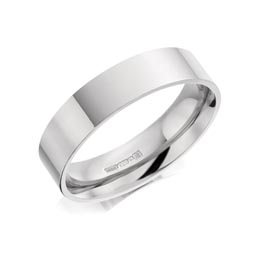 Plain wedding ring