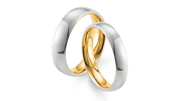 Special Gold Pure Love wedding ring from gay and lesbian LGBT jeweller