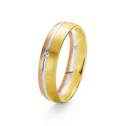 rainbow colour wedding ring