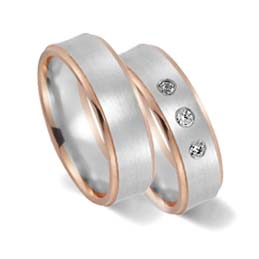 rainbow lgbt weddings rings