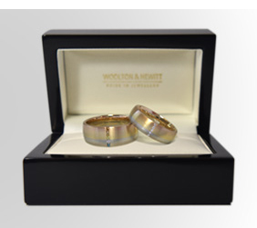 Gay Engagement Ring & Lesbian Wedding Ring Case